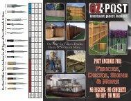 Fences, Decks, Signs & More - Oz-Post