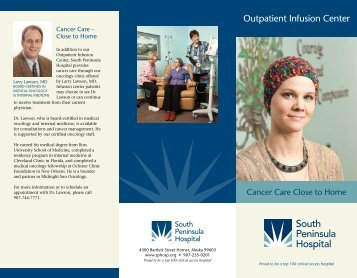 Outpatient Infusion Center - South Peninsula Hospital