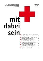 Ausgabe 2/2010 Für Mitglieder und Freunde des  - DRK Bielefeld ...