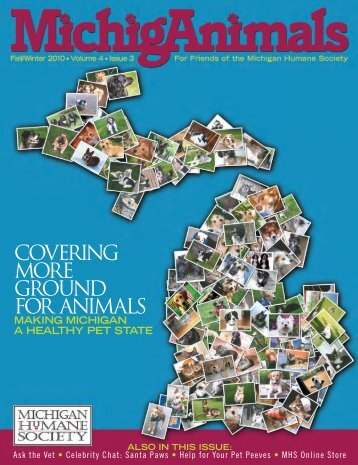 2010 - Summer - Volume 4 Issue 3 (.pdf 8MB) - Michigan Humane ...