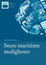 Konjunkturrapport 2013 - Norges Rederiforbund