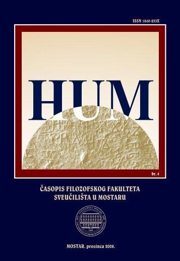 HUM 4 - Filozofski fakultet