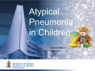 Salome Abbott Atypical pneumonia