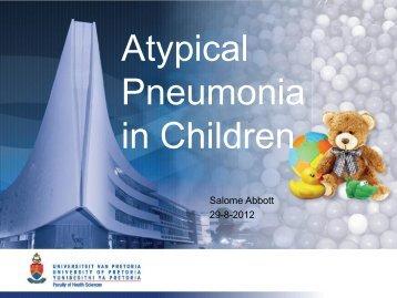 Salome Abbott Atypical pneumonia