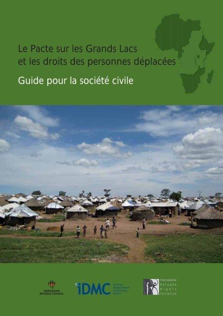 Le Pacte sur les Grands Lacs et les droits des personnes déplacées ...