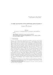 A simple presentation of the handlebody group of genus 2 ∗ - SSMR