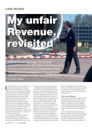 My unfair Revenue, revisited My unfair Revenue, revisited