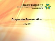 Sino Union Energy Investment Group Limited - TodayIR.com