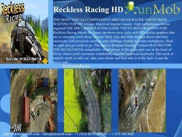 Reckless Racing HD - RunMob
