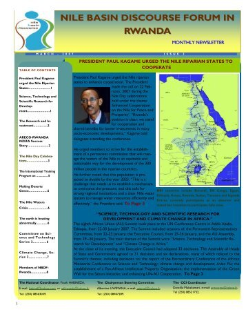Read NBDF Newsletter Issue N. 3 - NBDF Rwanda