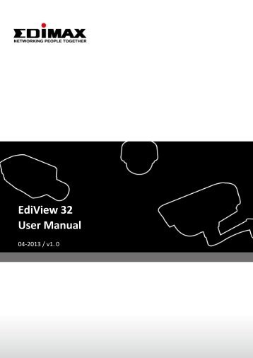 EdiView 32 User Manual - Edimax
