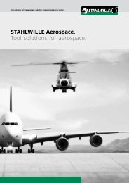 Stahlwille aerospace. Tool solutions for aerospace.