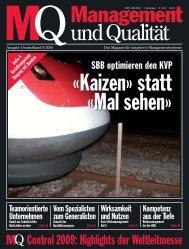 MQ Management & Qualität - Risikomanagement ... - Schleupen AG