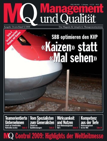 MQ Management & Qualität - Risikomanagement ... - Schleupen AG
