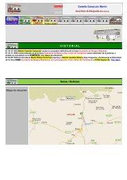 H I S T O R I A L Notas / Noticias Mapa de situación