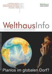 Globales Lernen (Juni - Sep. 2011) - Welthaus Graz