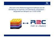 Definition von Enterprise Risk Management