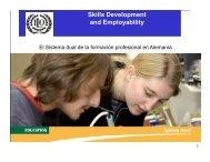 El Sistema dual de la formación profesional en Alemania - Ilgo