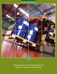 Epoxy Coatings Brochure - Euclid Chemical Co