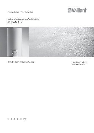 atmomag_notice-installation-et-utilisation_921088_02 ... - Vaillant