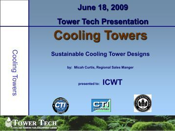 Cooling Towers - ICWT