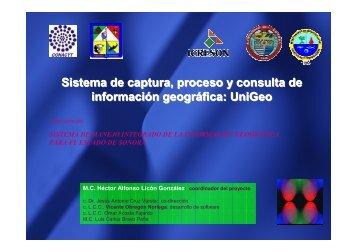 Sistema de captura, proceso y consulta de información