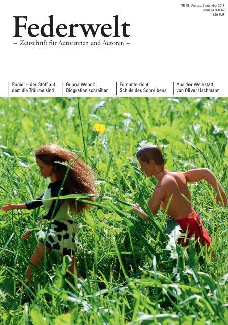 – Zeitschrift für Autorinnen und Autoren – - Schule-des-schreibens