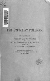 THE STRIKE AT PULLMAN