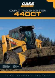 COMPACT TRACKED SKID STEER