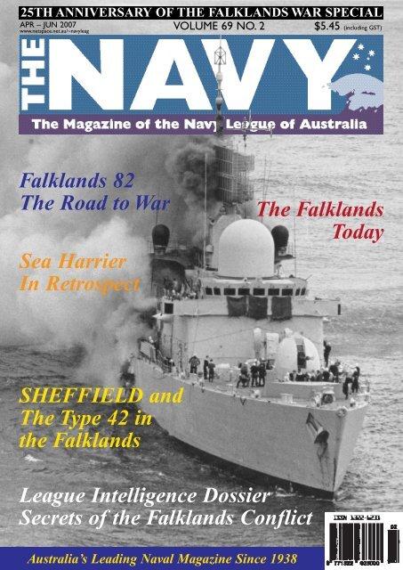 The Navy Vol_69_No_2 Apr 2007 - Navy League of Australia