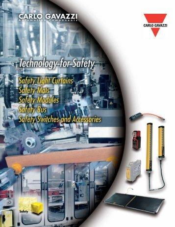 Carlo Gavazzi Safety Brochure