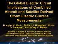 The Global Electric Circuit Implications of Combined Aircraft and ...