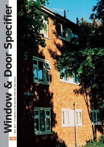 Window & Door Specifier - SFS intec