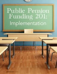 Public Pension Funding 201: Implementation - Louisiana State ...