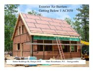 Exterior Air Barriers - Efficiency Vermont