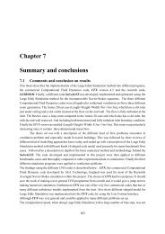 Chapter 7 Summary and conclusions