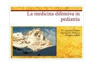 La medicina difensiva in di i pediatria - Acemc.it