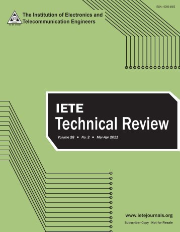 Technical Review - Ubiquitous Computing Laboratory