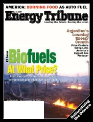 The Disastrous Local and Global Impacts of Tropical Biofuel ...