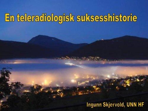 Radiologisk samhandling i Helse Nord