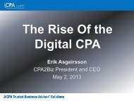The Rise Of the Digital CPA - Flagg Management Inc