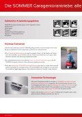 Garagentorantriebe Prospekt - Garážová vrata Trido - Page 2