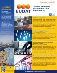 July 2012 (PDF) - EUDAT