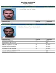 Updated May 17th: Mugshots of people arrested in Lenoir County