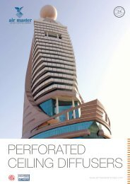 perforated ceiling diffusers - Airmaster Equipments Emirates