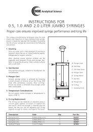 0.5, 1.0 and 2.0 Litre Jumbo Syringe Instructions - SGE Analytical ...