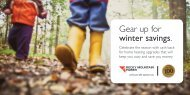 Gear up for winter savings. - Rocky Mountain Power