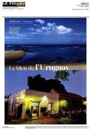 Le bleu de l'Uruguay - Voyageurs du Monde