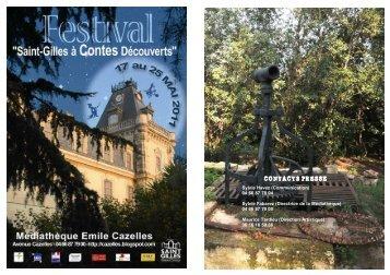 Dossier de presse Festival St-Gilles à contes Découverts 2011