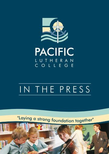 Untitled - Pacific Lutheran College